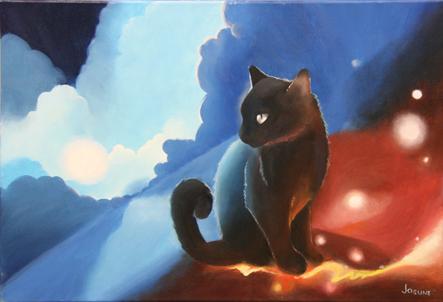 """""""Gato en las nubes"""""""