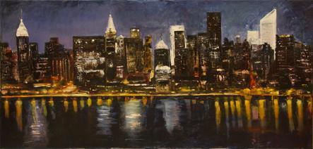 """New York"" de Alberto Sáenz"